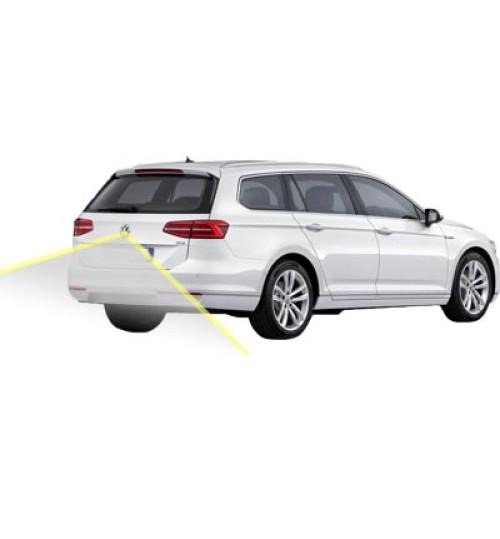 VW Passat Estate B8 Rear Camera Kit with Emblem Camera & Moving Guidelines - Genuine