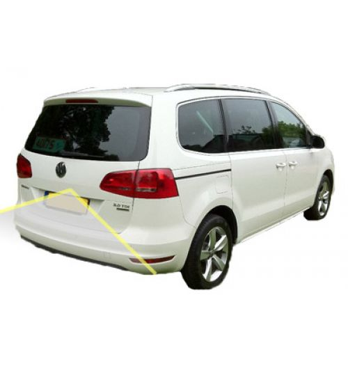 VW Sharan Reversing Rear View Camera Kit With Fixed Lines 2015+
