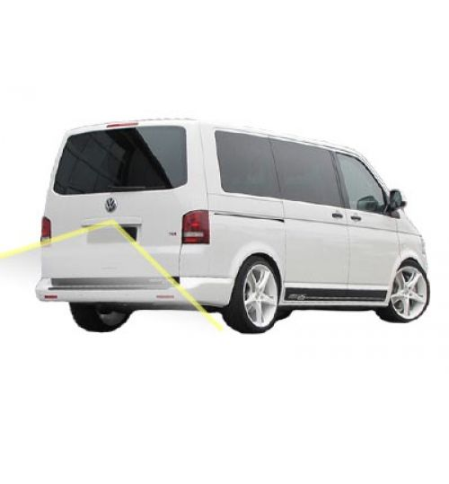 VW Transporter T6 (Tail Lift) Reversing Camera Kit With Guidelines