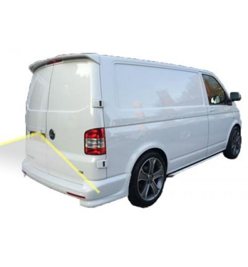 VW Transporter T6 With Barn Doors Reversing Camera Kit With Guidelines