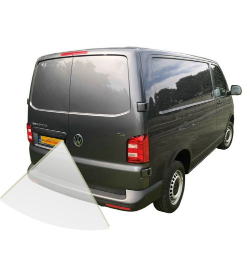 Volkswagen Transporter T6 Reversing Camera Kit - Swing / Barn Doors  With Guidelines