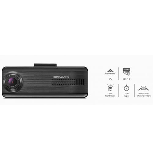 Thinkware F200 Pro FHD Dash Cam - Single Channel 1080p