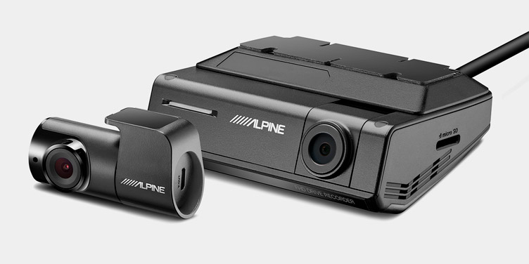 Alpine-ADAS-Dash-Cam_DVR-C320S_Optional-Rear-View-Camera