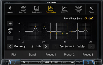 High-end Sound Tuning Options