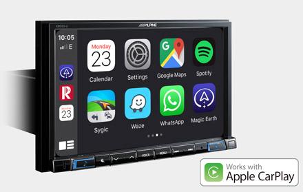 Works with Apple CarPlay