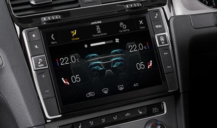 Golf-7-Air-Condition-Display-X903D-G7R