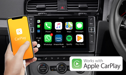 Golf-7-Works-with-Apple-CarPlay-X903D-G7R