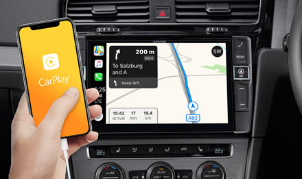 Online-Navigation-with-Apple-CarPlay-Navi-X903D-G7R