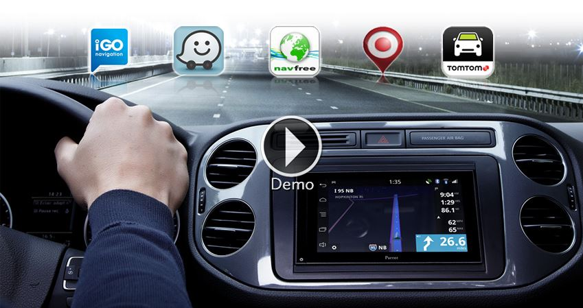 Parrot asteroid smart bluetooth navigation and multimedia with the parrot asteroid smart enter a new dimension in infotainment just like on your tablet or smartphone customise your parrot asteroid smart with greentooth Gallery