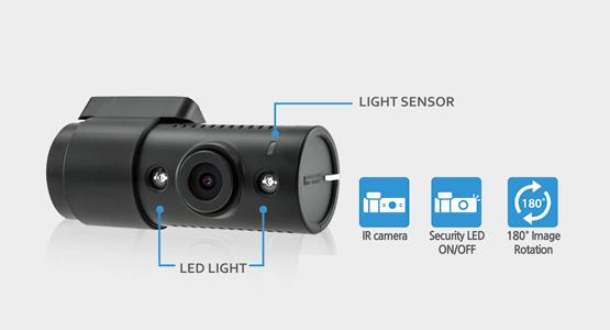 Blackvue-DR590-2CH-IR-Dashcam-Interior-Infrared-Camera