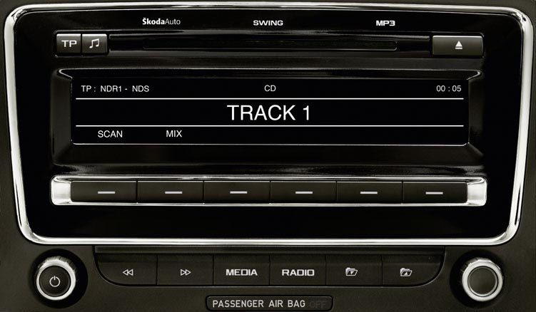 Dension Gateway Pro BT GWP1V21 - Skoda Fabia, Octavia, Superb, Roomster  iPod/iPhone/USB Car Kit