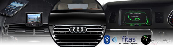 Audi Bluetooth Hands-Free Car Kits