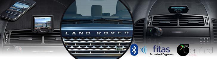 Land Rover Bluetooth Hands-Free Car Kits