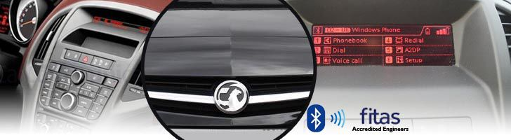 Vauxhall Bluetooth Hands-Free Kit