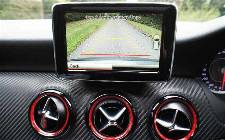 Mercedes Benz Reversing Camera Kit