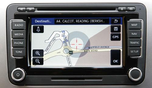 volkswagen rns 510 touchscreen navigation system latest p. Black Bedroom Furniture Sets. Home Design Ideas