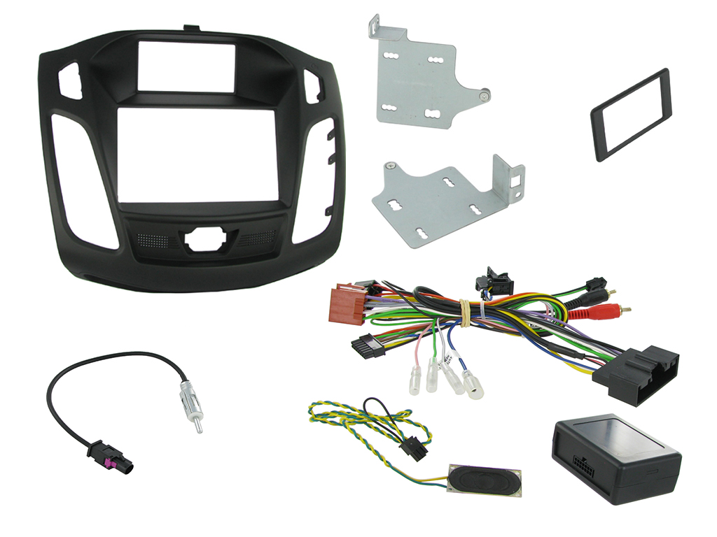 Connects2 Car Stereo Fitting Kit Double DIN Facia Radio Installation For  Ford - CTKFD31