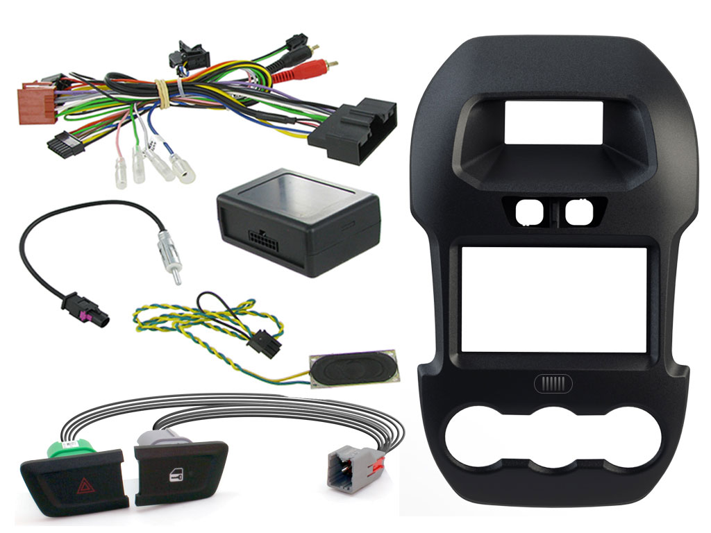 Connects2 Car Stereo Fitting Kit Double Din Facia Radio Installation Stinger Wiring Instructions For Ford Ctkfd40c