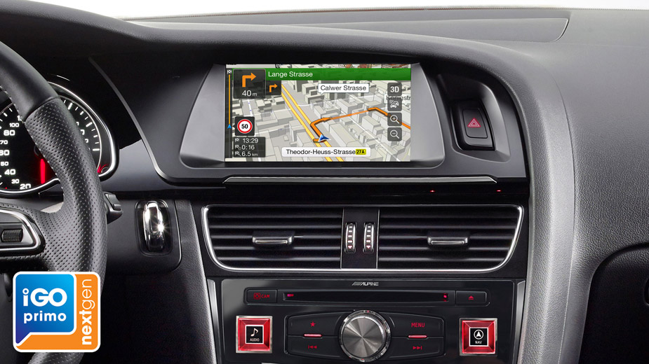 Alpine X702D-A4R 7-inch Touch Screen Navigation Apple CarPlay, Android  Auto, DAB+ for Audi A4 / A5