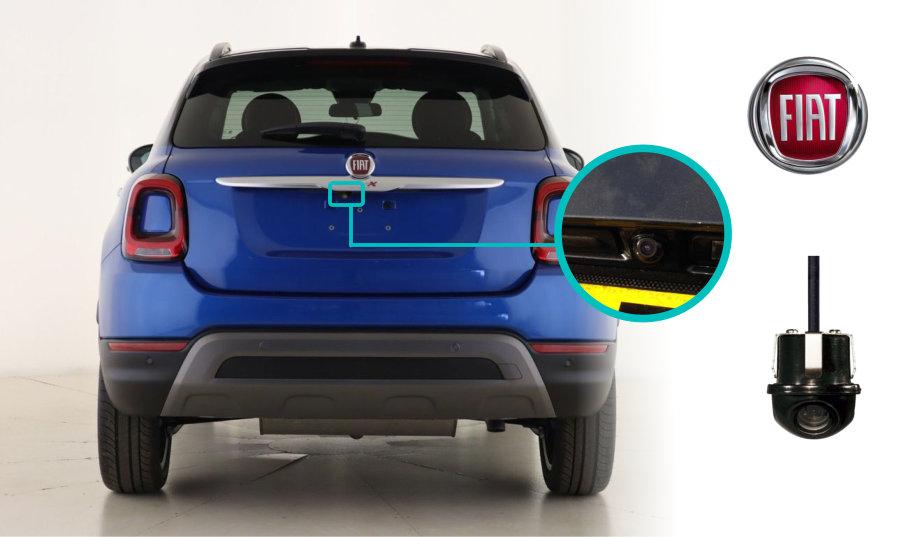 Fiat-500x-rear-view-reversing-camera-retrofit-kit-solution-cam