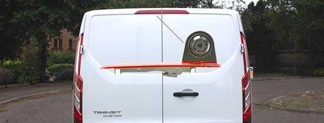 Brake Light Reversing Camera For Ford Transit Custom 2012