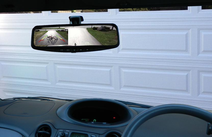 Citroen C3 Reversing Rear View Camera Kit (universal)