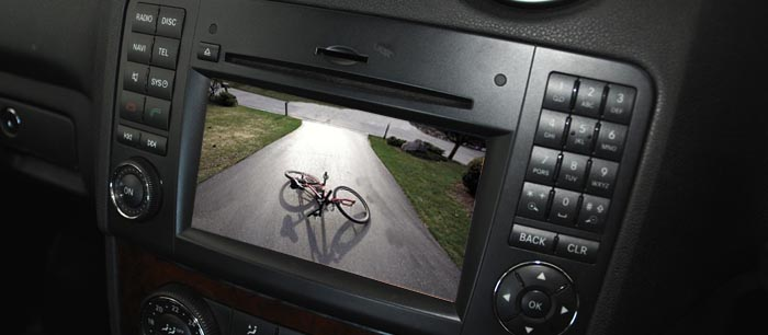 crafter reversing camera screen