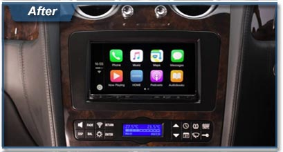 Stereo Upgrade Package Bentley GT / GTC / SPUR 2004-2011 (Sat Nav,  Bluetooth, Apple CarPlay, Android Auto, DAB) INSTALLATION INCLUDED