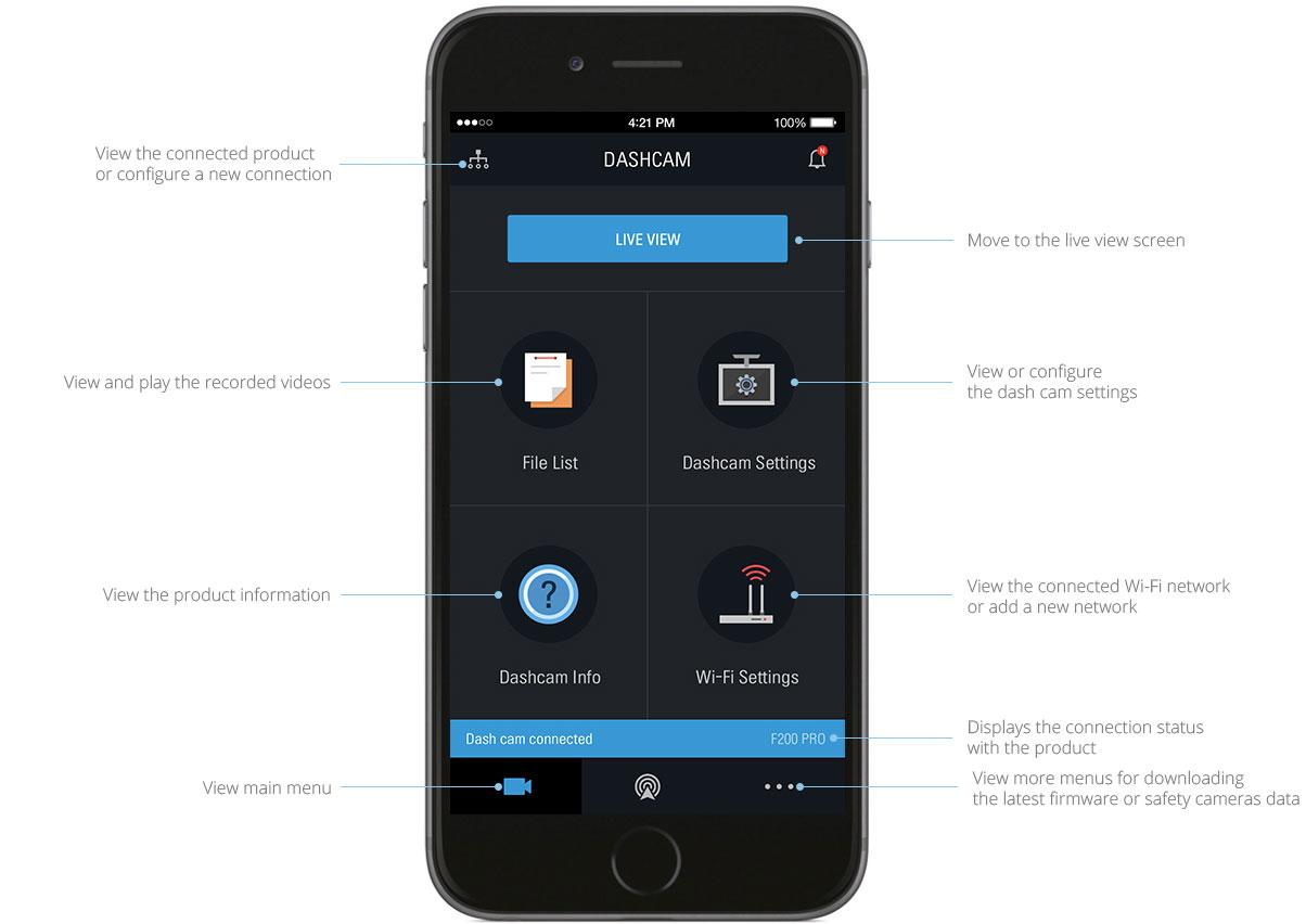 thinkware-f200pro-dashcam-features-mobile-app