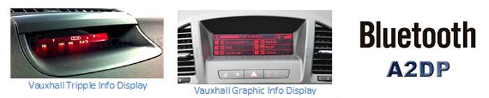 Vauxhall Blutooth A2DP
