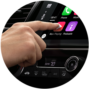Touchscreen on CarPlay