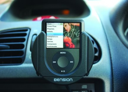 iPod Dock Cradle - Vent Mounted