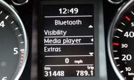 VW FISCON Bluetooth instrument cluster