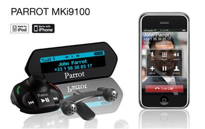 parrot mki9100 bluetooth music car hands free kit v3. Black Bedroom Furniture Sets. Home Design Ideas