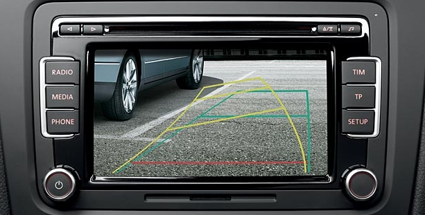 Dynamic Guide Lines Reversing Camera